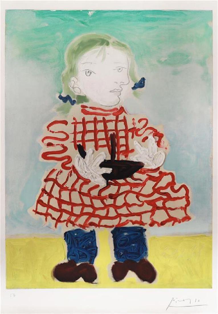 Pablo Picasso 1881-1973 (Spanish) Portrait d'une Fille
