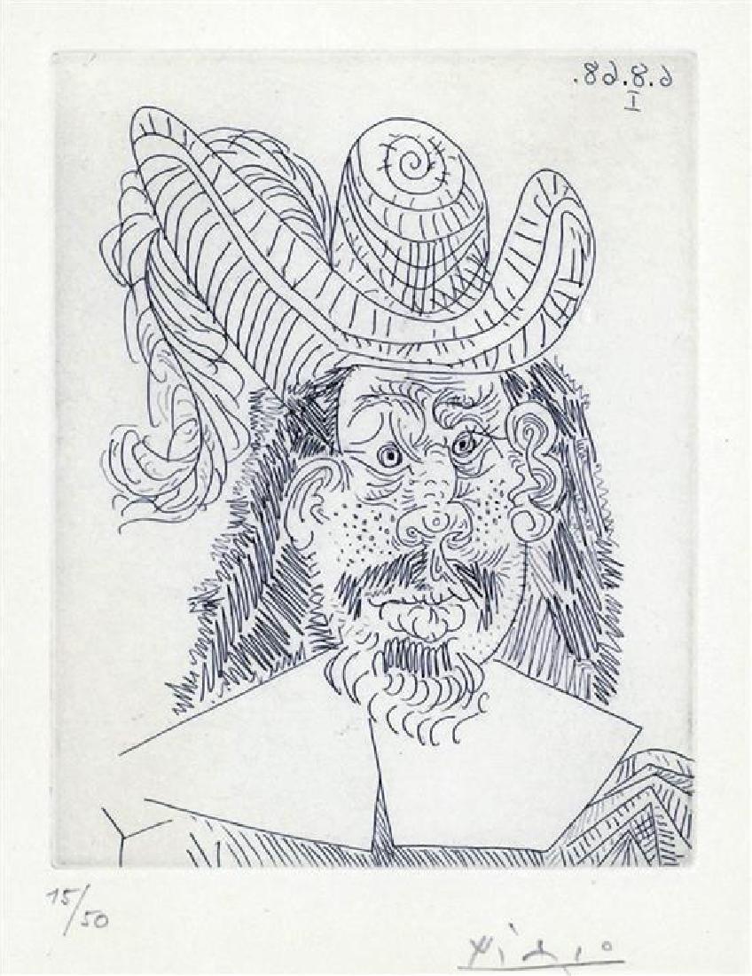 **Pablo Picasso 1881-1973 (Spanish) Portrait de