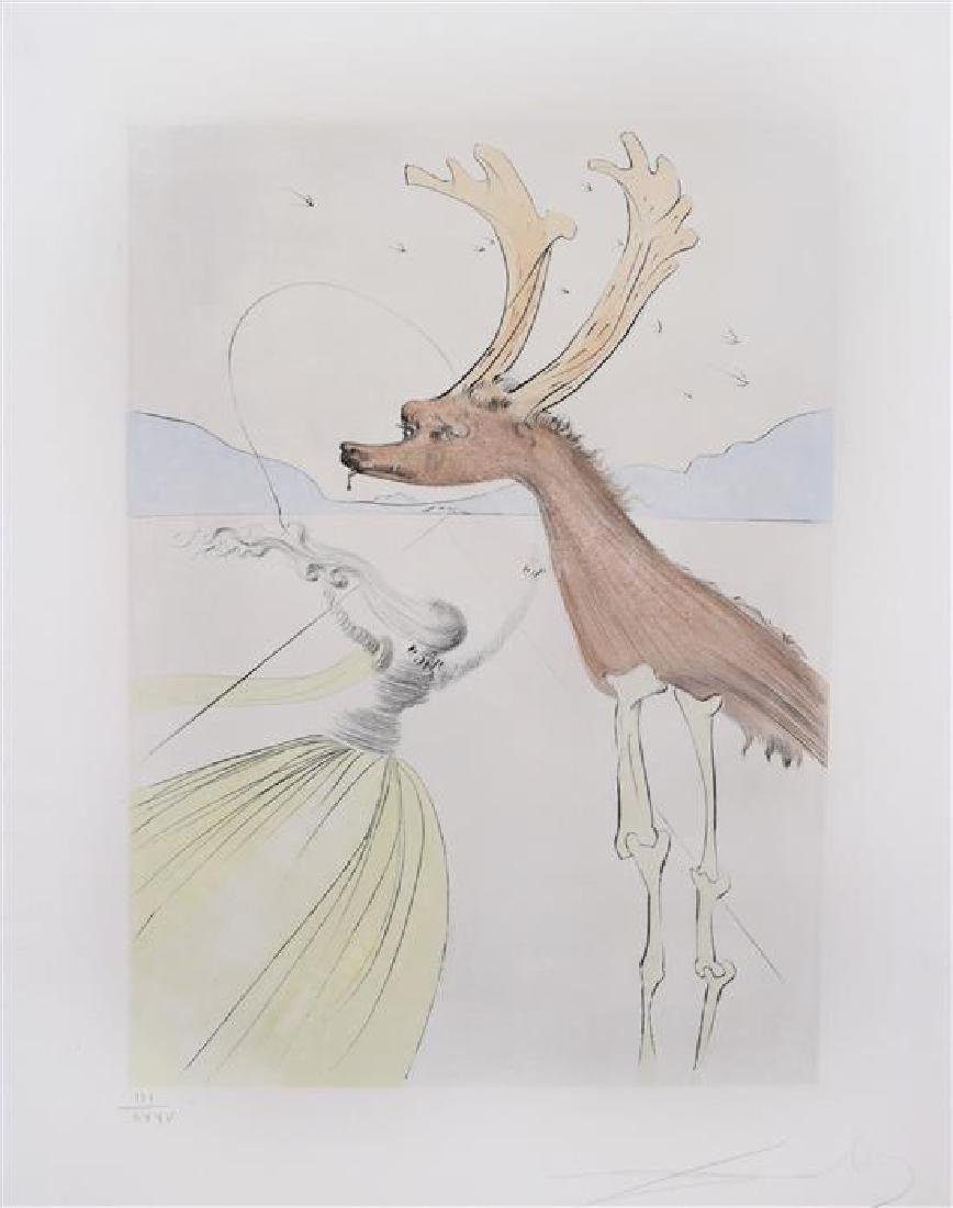 **Salvador Dali 1904-1989 (Spanish) Levi, From Twelve