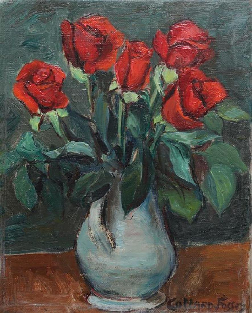 **Louise Jeanne Cottard-Fossey 1902-1983 (French) Red