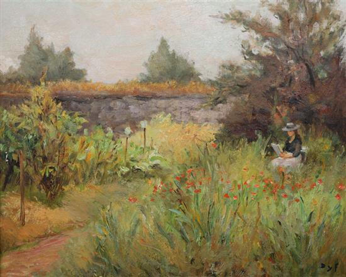 **Marcel Dyf 1899-1985 (French) Le jardin Georget