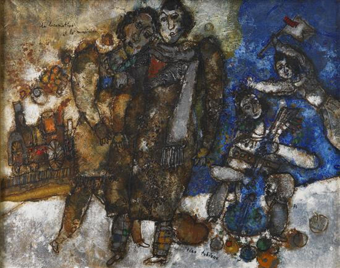 **Theo Tobiasse 1927-2012 (French) La locomotive et le