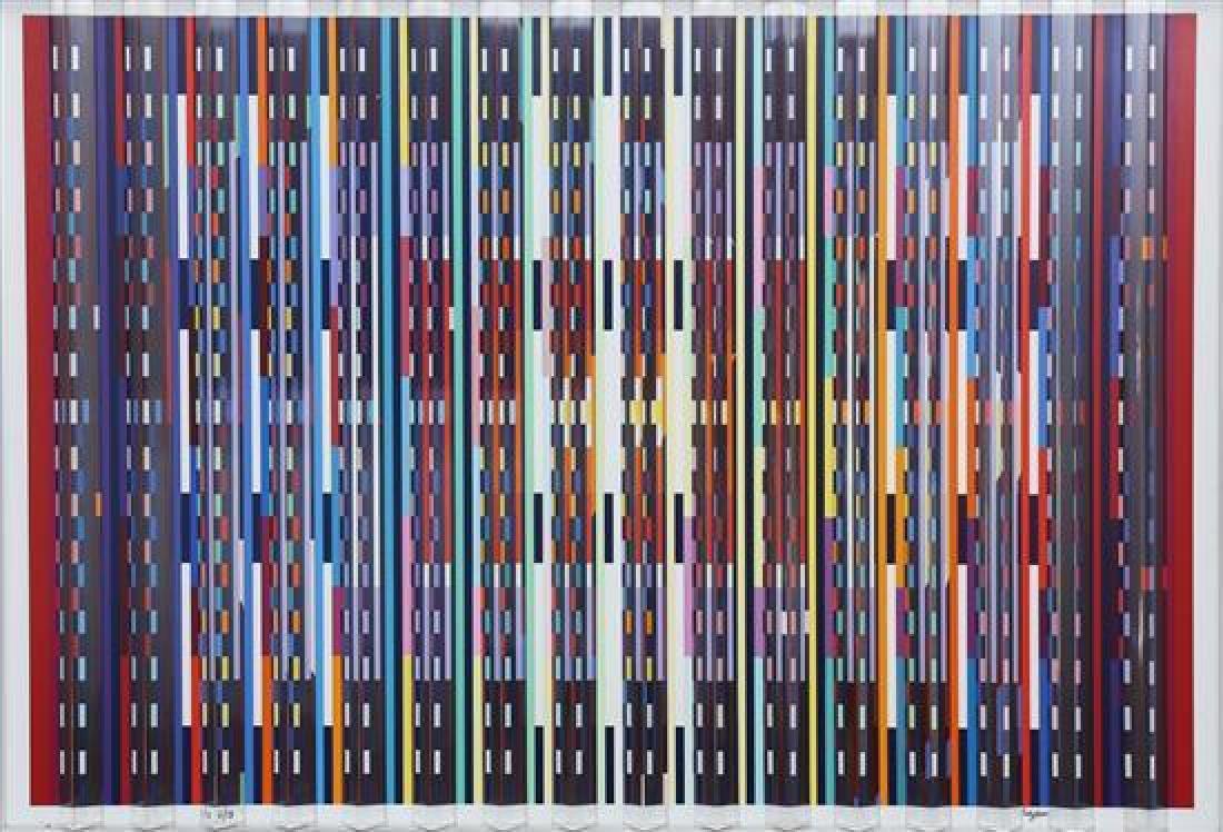 **Yaacov Agam b.1928 (Israeli) Fascination, 1988