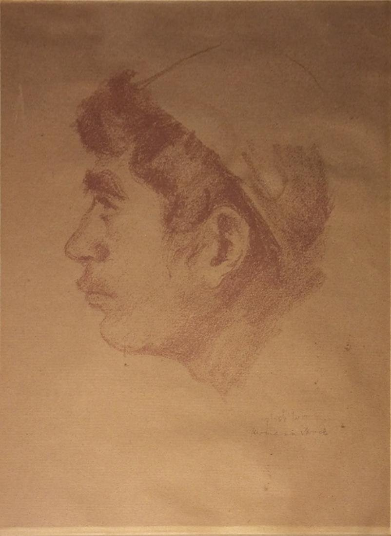 Hermann Struck 1876-1944 (Israeli)