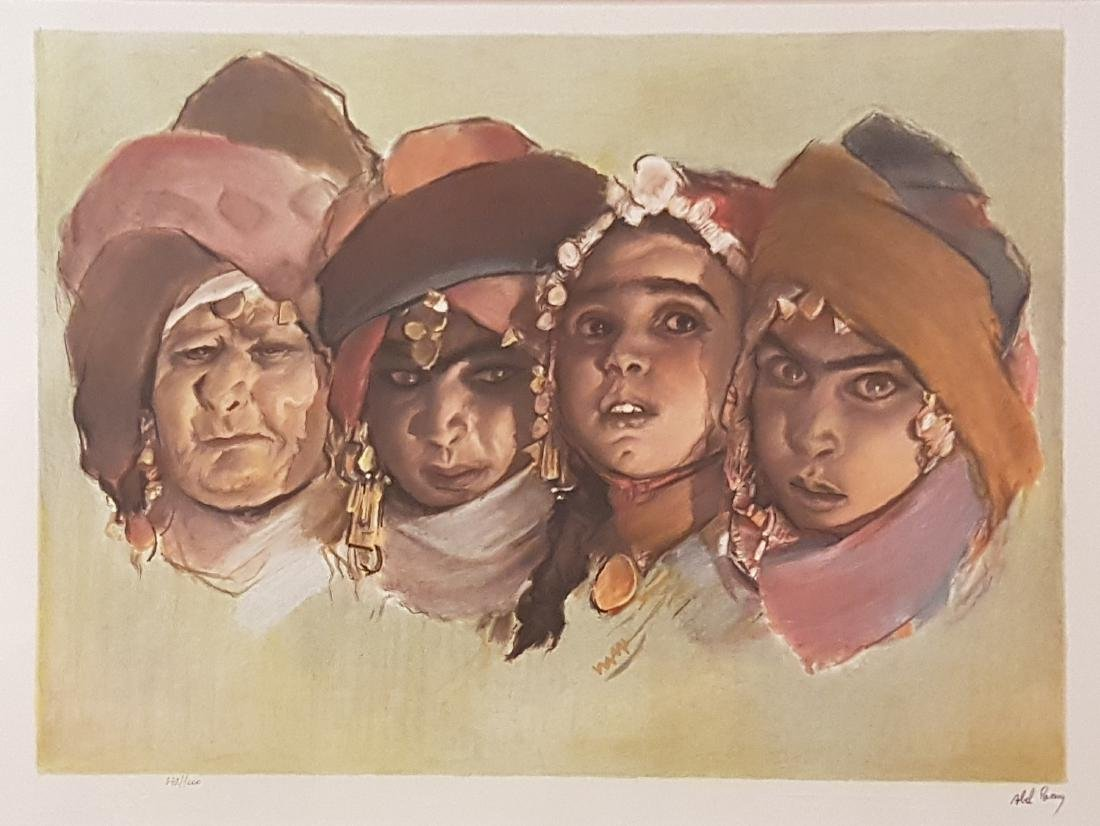 Abel Pann 1883-1963 (Latvian, Israeli)