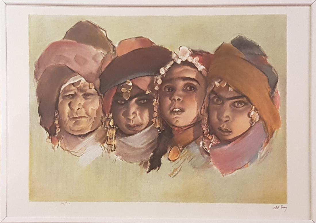 Abel Pann 1883-1963 (Latvian, Israeli) - 2