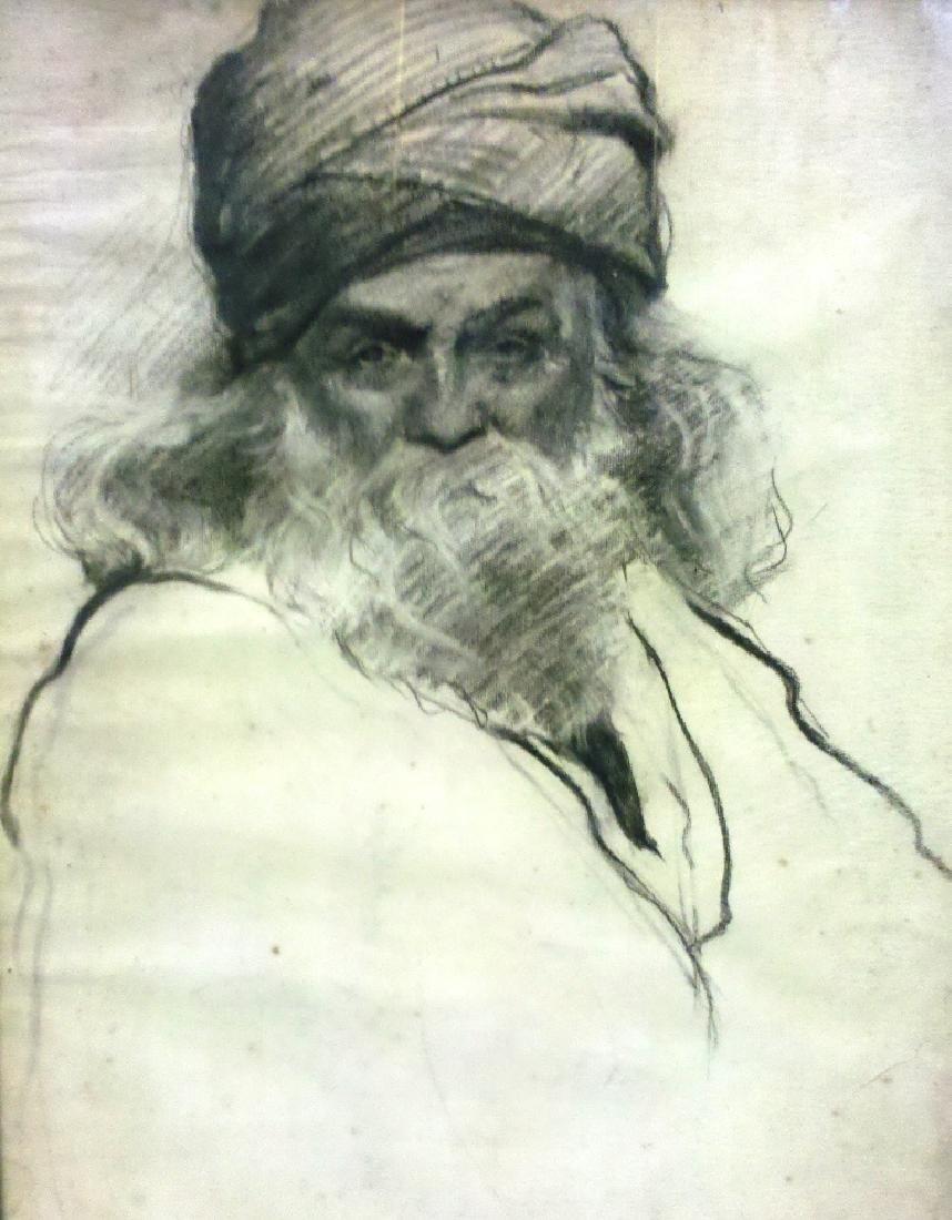 Attributed to Abel Pann 1883-1963 (Israeli, Latvian)