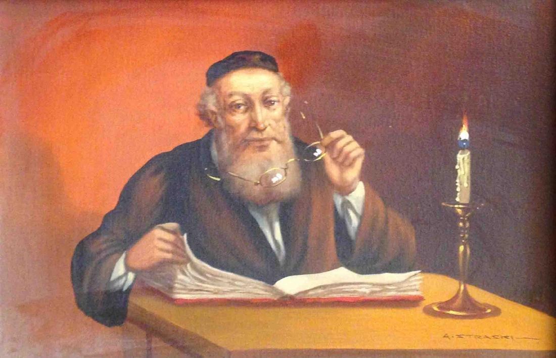 Abraham Straski 1903-1987 (Polish)