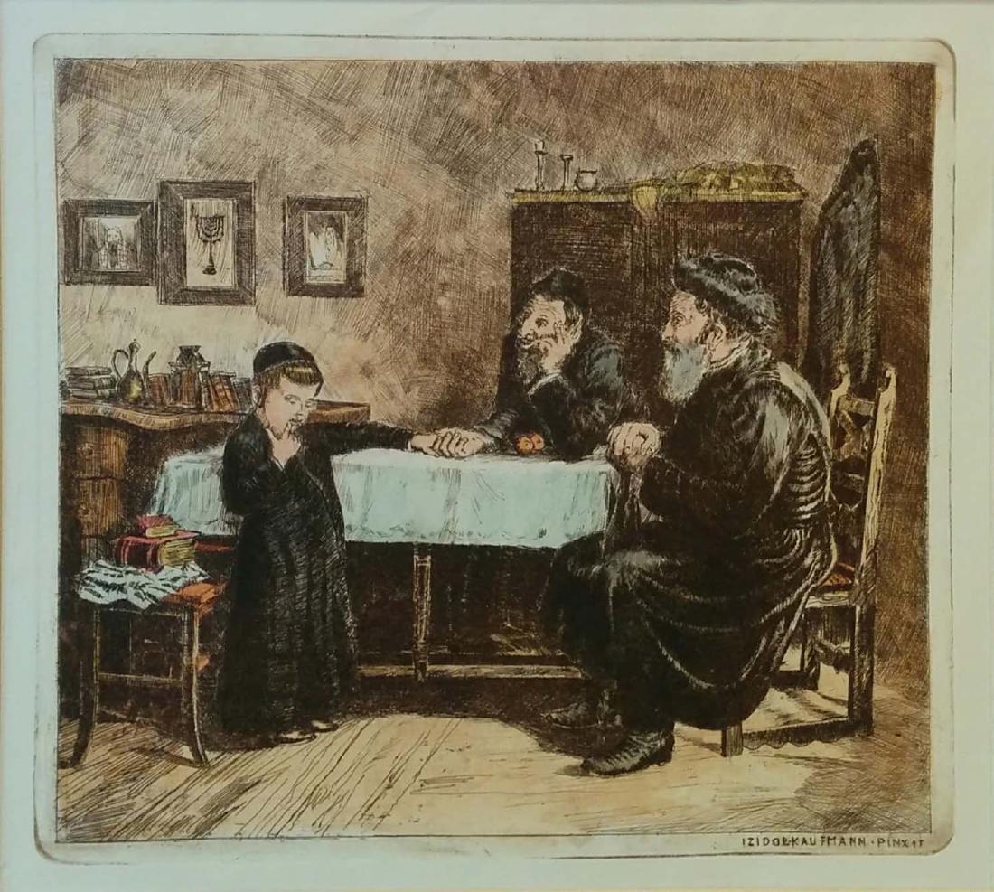 Isidor Kaufmann 1853-1921 (Austrian, Hungarian)