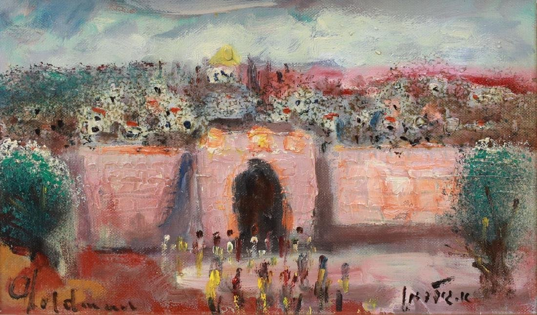 Albert Goldman b. 1922 (Israeli)