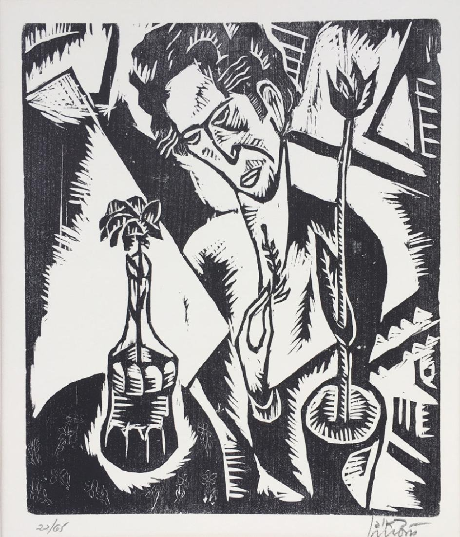 Reuven Rubin 1893-1974 (Israeli)