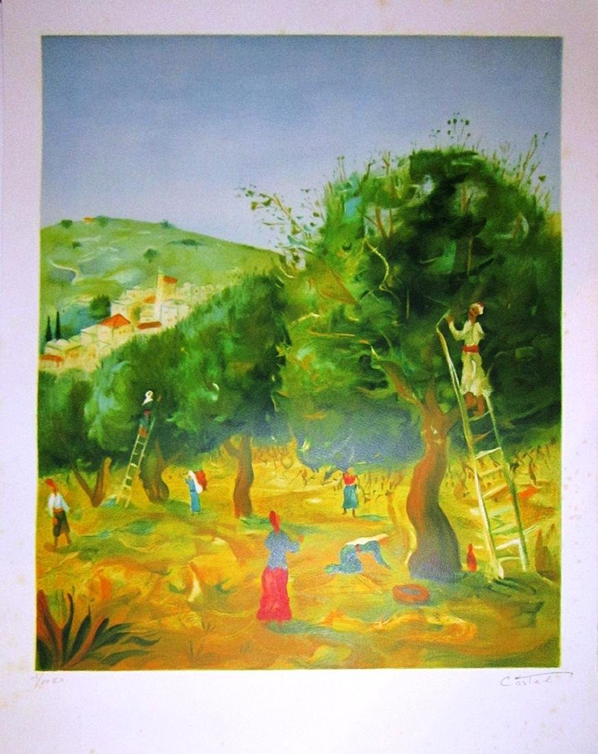 Moshe Castel 1909-1991 (Israeli)