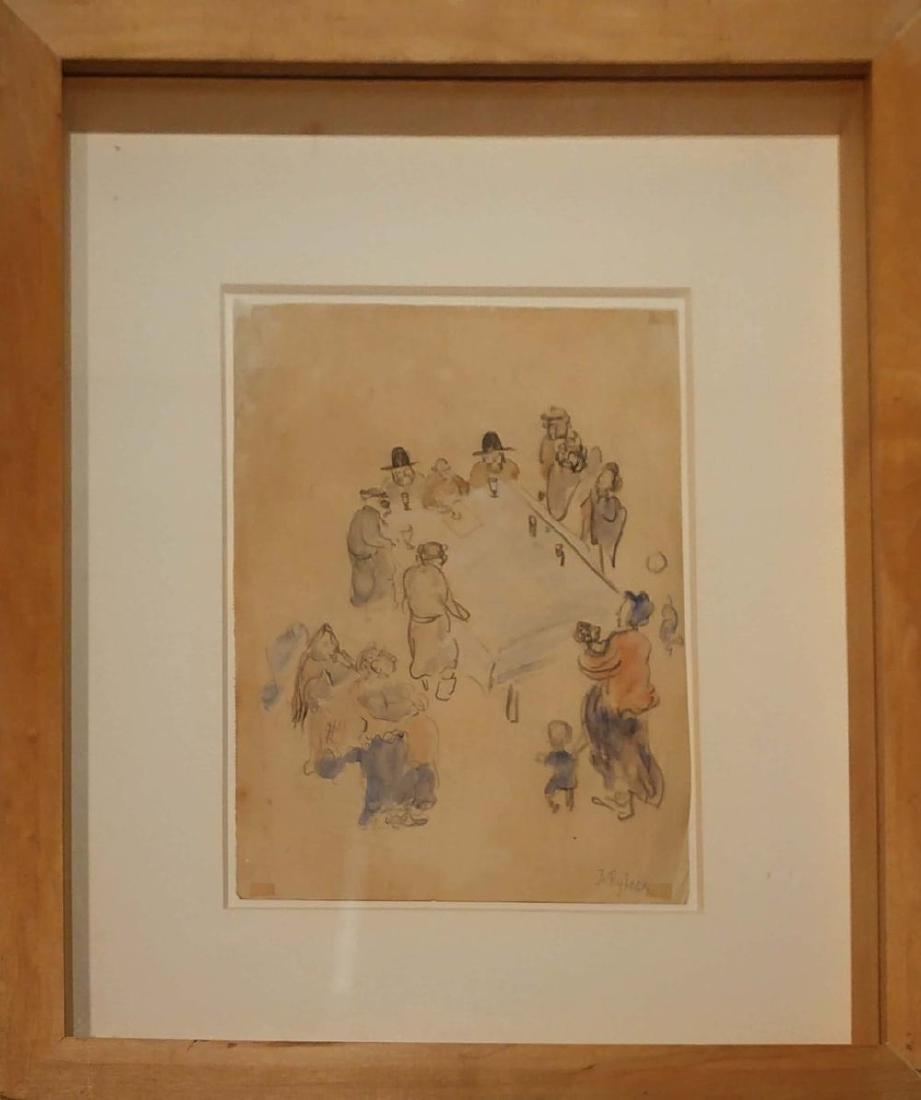 Issachar Ber Ryback 1897-1935 (Ukrainian, French) - 2