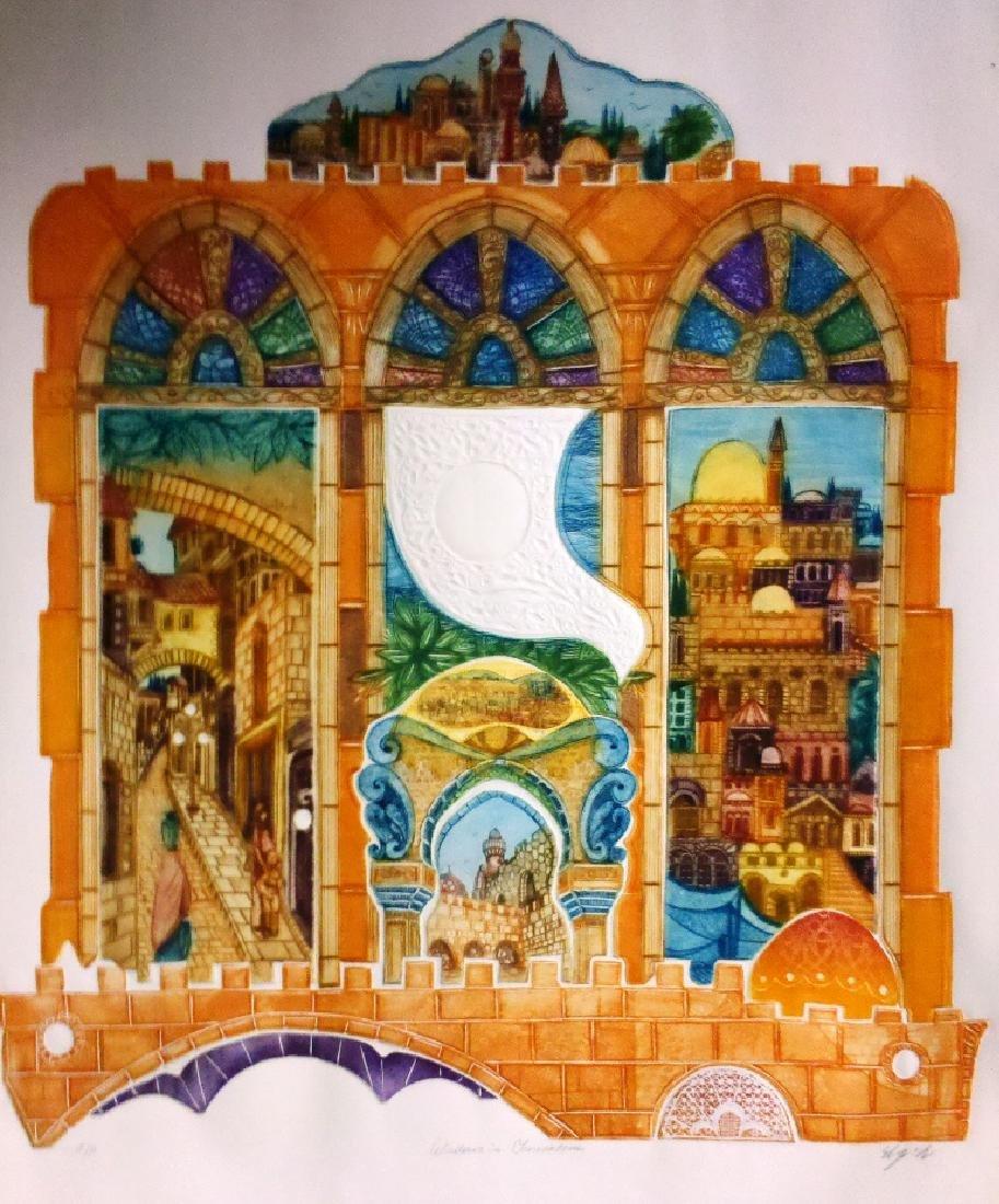 Amram Ebgi b.1939 (Israeli, American)