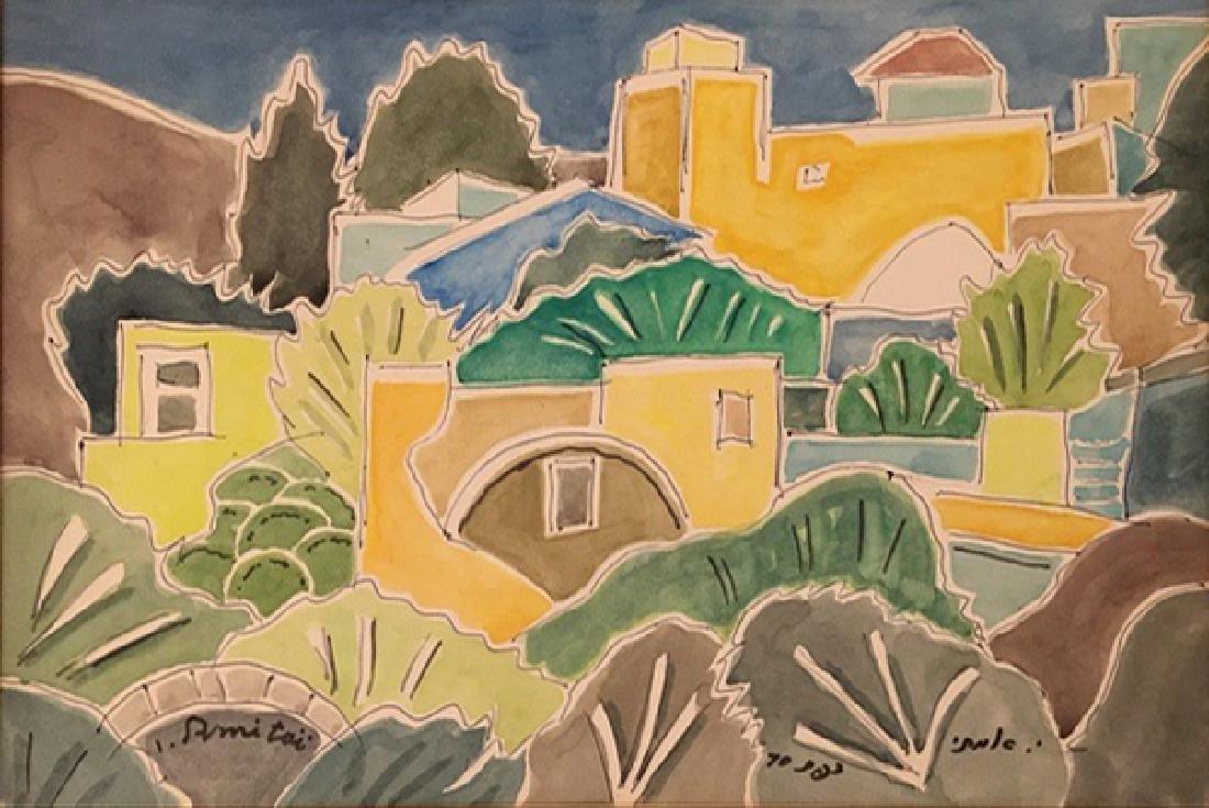 Isaac Amitai 1907-1984 (Israeli)