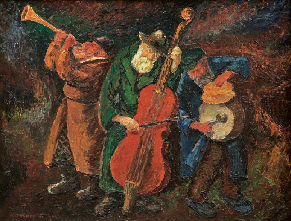 Chaim Goldberg 1917-2004 (Polish)