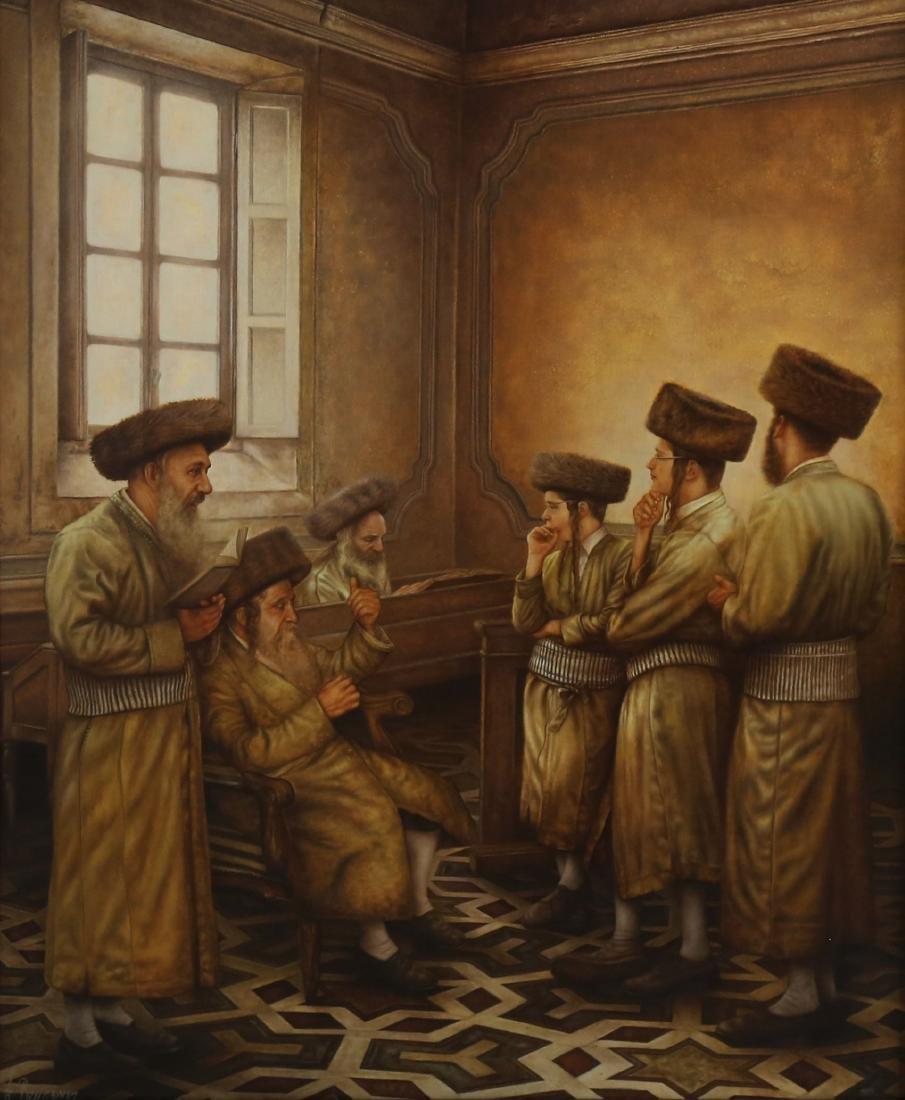 Albert Benaroya b.1963 (Israeli)