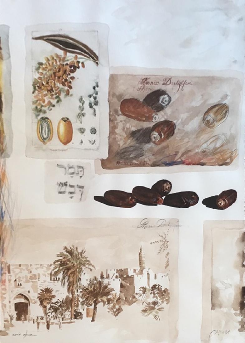 Arie Azene b.1934 (Israeli)