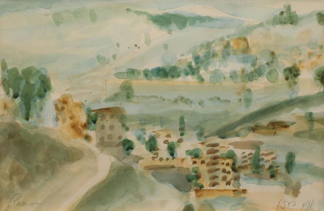 Yoram Raanan b.1953 (Israeli)