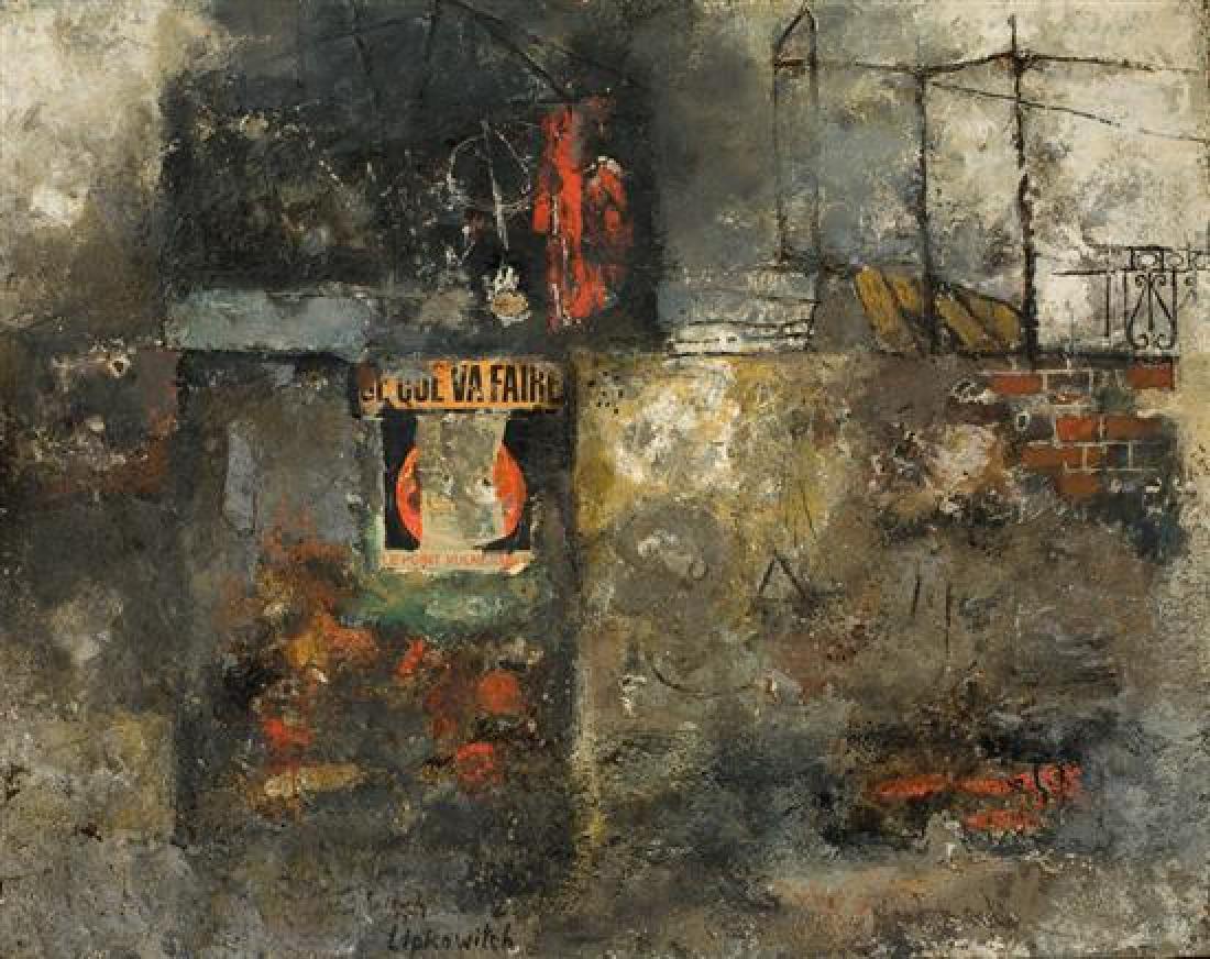 E. Lipi Lipkowitch 1924-1987 (Polish)