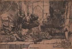 After Rembrandt Harmenszoon van Rijn 1606-1669 (Dutch)
