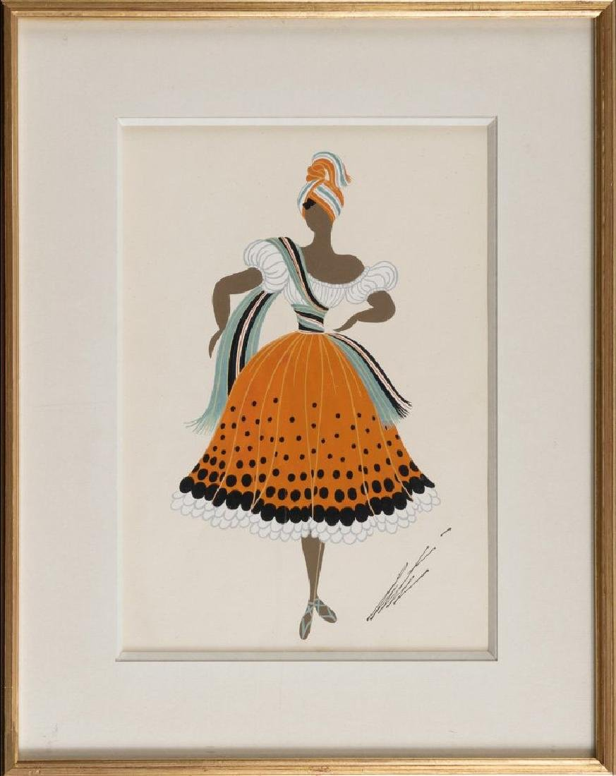 Erte (Romain de Tirtoff) 1892-1990 (Russian, French) - 2