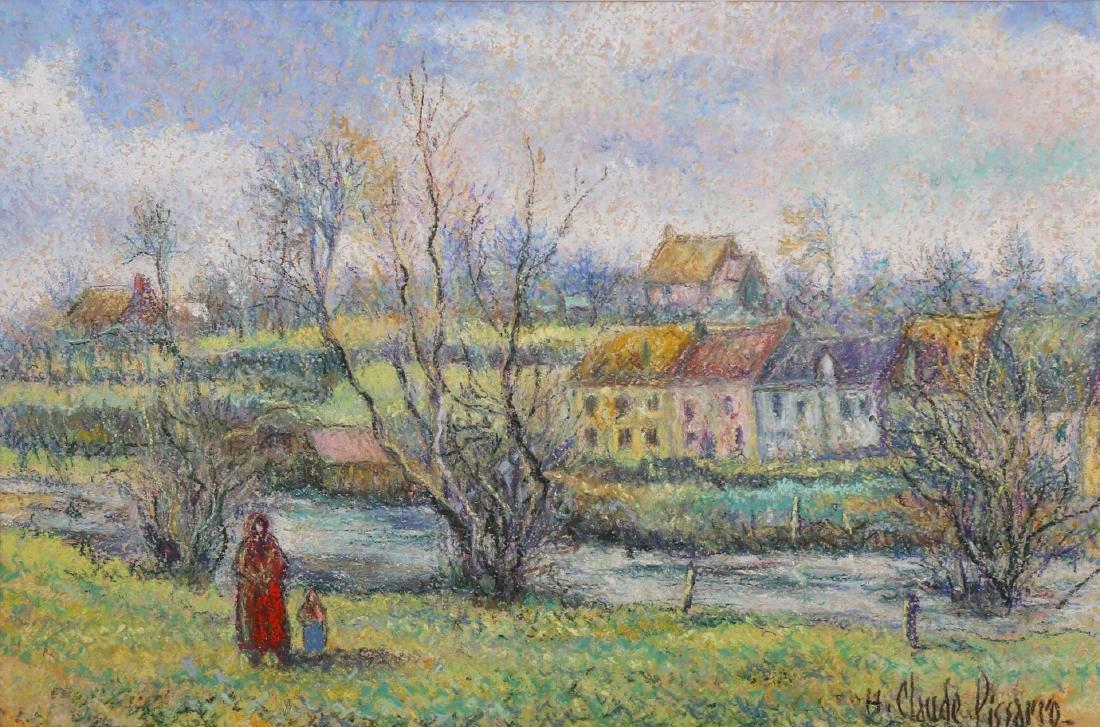 Hugues Claude Pissarro b.1935 (French)