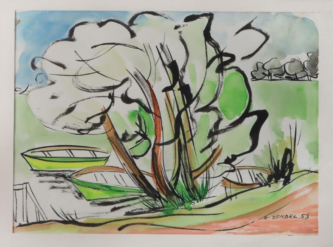 Gavriel Zendel 1906-1992 (French)