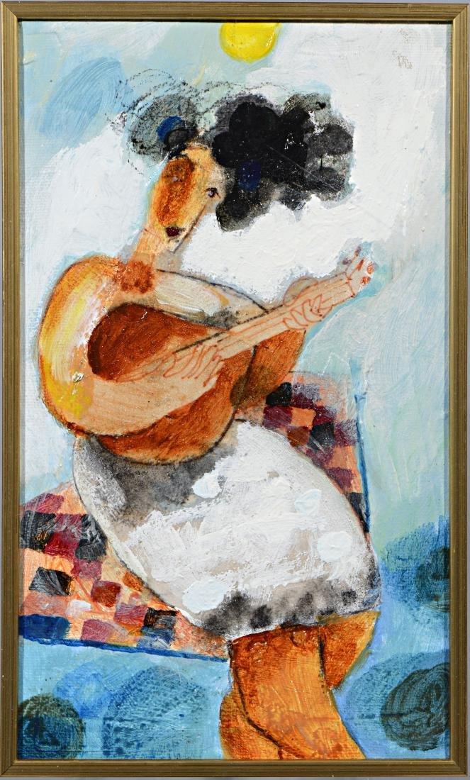 Yoel Benharrouche b.1961 (Israeli)