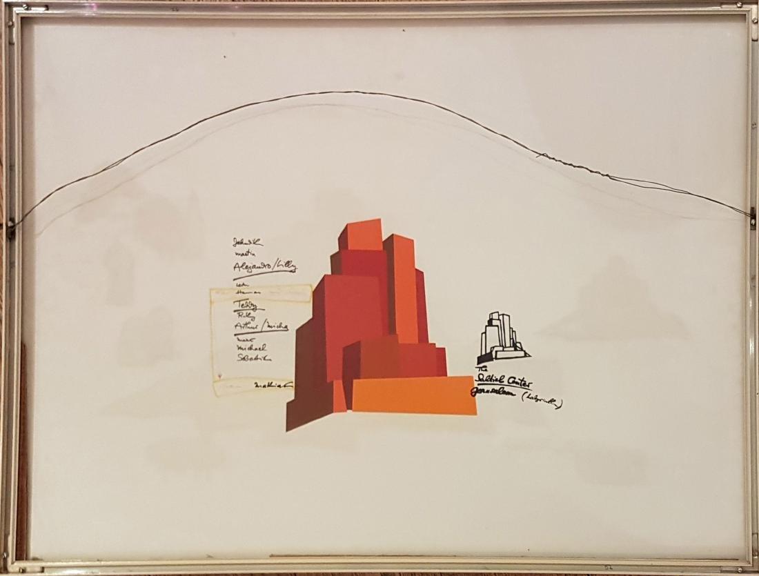 Mathias Goeritz 1915-1990 (Mexican) - 2