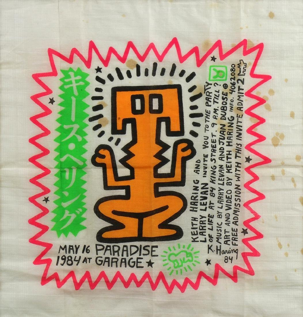 Keith Haring 1958-1990 (American)