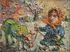David Davidovich Burliuk 1882-1967 (Ukrainian,