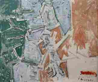 Joseph Zaritsky 1891-1985 (Israeli) Untitled oil on