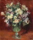 Marcel Dyf 1899-1985 (French) Bouquet de fleurs sur