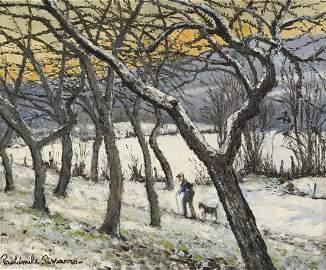 Paul-Emile Pissarro 1884-1972 (French) Paysage de neige