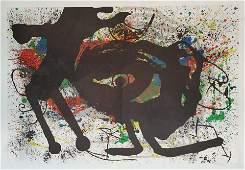 Joan Miro 1893-1983 (Spanish) Derriere le miroir