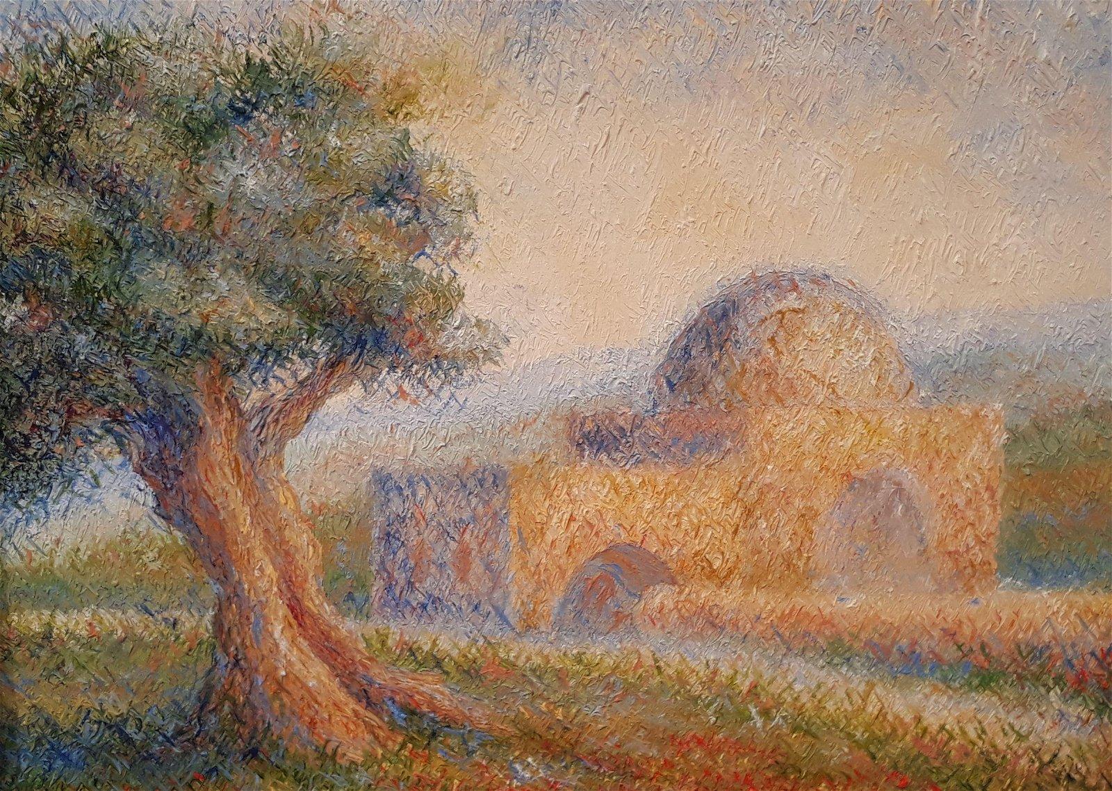 Naomi Sasi b.1992 (Israeli) Rachel's Tomb oil on canvas