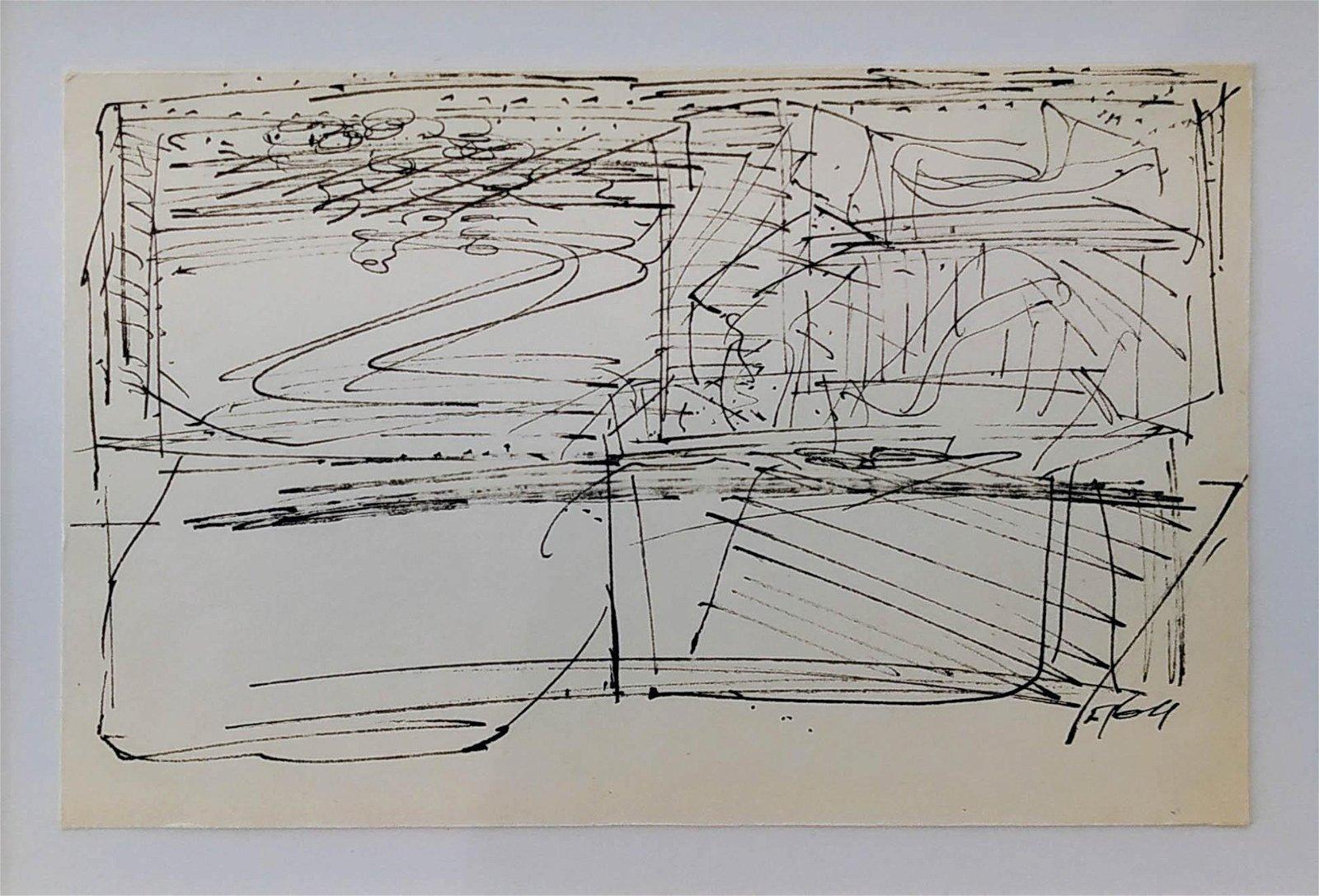 Moshe Kupferman 1926-2003 (Israeli) Untitled, 1964 ink