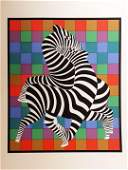 Victor Vasarely 1906-1997 (Hungarian, French) Zטbres