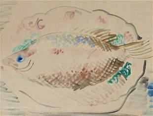 Raoul Dufy 18771953 French Nature morte au poisson