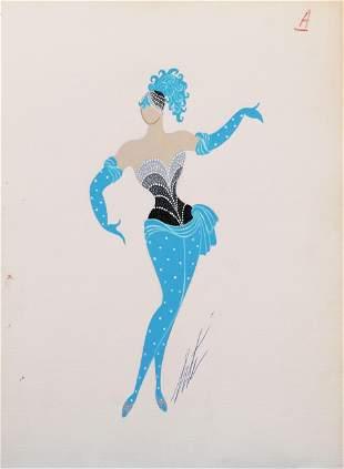 Erte Romain de Tirtoff 18921990 Russian French