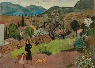 Gregoire Michonze 19021982 Romanian French Femme