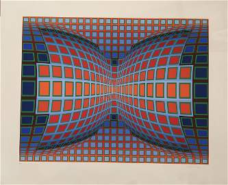 Victor Vasarely 1906-1997 (Hungarian, French)