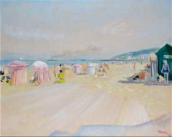 Lucien Adrion 1889-1953 (French) Deauville, les