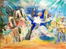 Jean Dufy 1888-1964 (French) Les ballets de Katherine