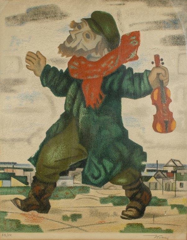 Arthur Kolnik 1890-1972 (Lithuanian) A Jewish man with