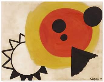 Alexander Calder 1898-1976 (American) Untitled, 1956