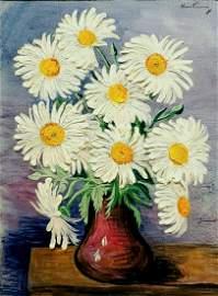 Moise Kisling 1891-1953 (Polish, French) Bouquet de