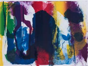 Paul Jenkins 1923-2012 (American) Composition, 1988