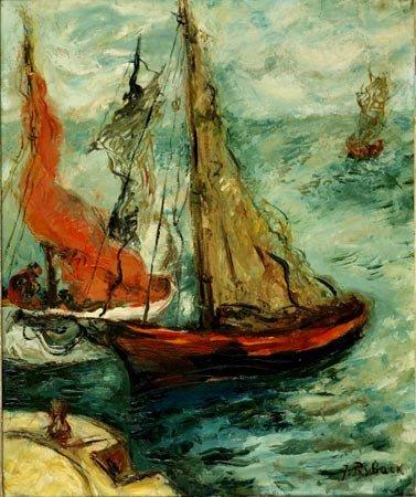4:  Artist Name:  Isaachar Ryback Sailboats